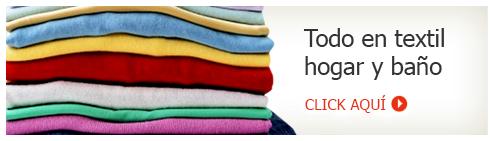 Ir a Textil hogar y baño